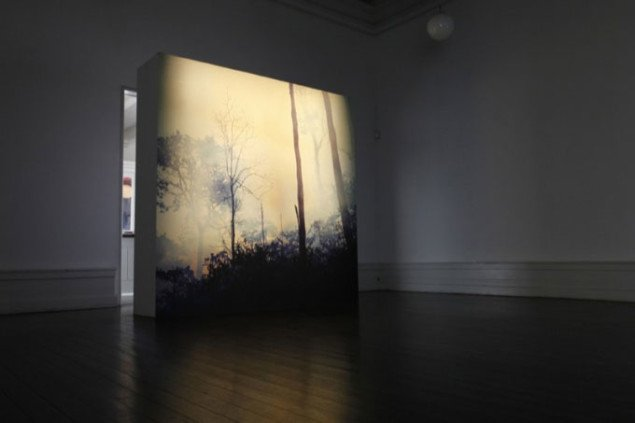 Sergio Vega, Novo Mundo, Ashes to Ashes and Paradise Burning, 2008 (video). Foto: Sebastian Schiørring