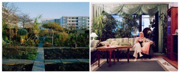 Malene Nors Tardrup: Rajah born in Morocco, lives in Copenhagen, Denmark »Jeg kan se min køkkenhave fra mit vindue i vores lejlighed. Jeg kommer i haven så ofte, jeg kan. Om sommeren bruger min familie og jeg det meste af vores tid her. Det er ligesom