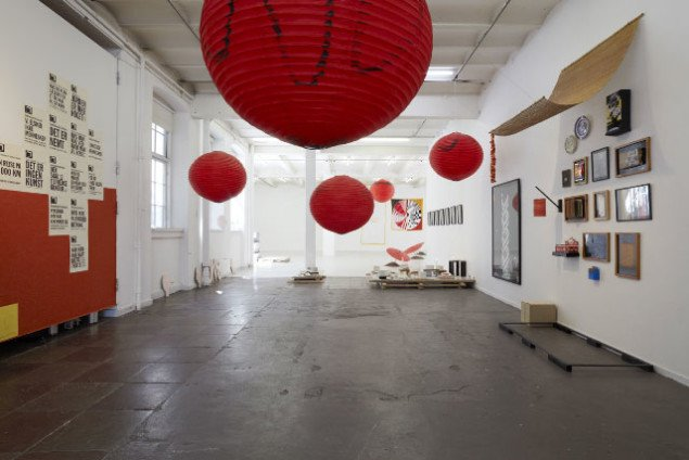 Installationsview. Foto: Anders Sune Berg