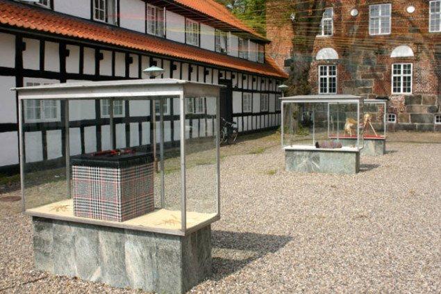 J&Ks Autoantropology ved Krabbesholm. Foto: Kristian Handberg