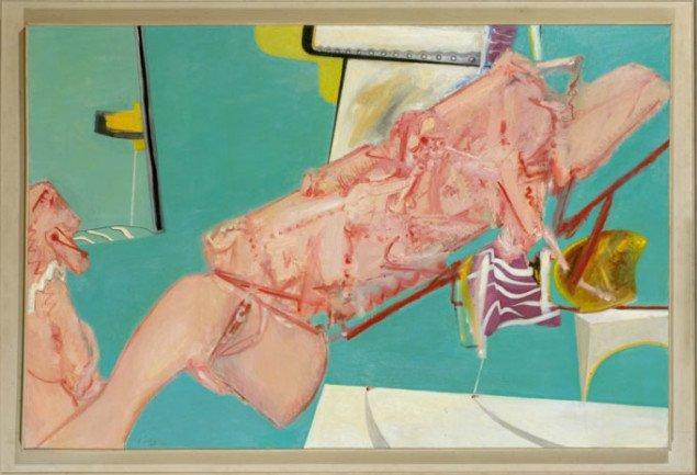 Wilhelm Freddie: La dolce vita.  KUNSTEN Museum of Modern Art, Aalborg 1966 Olie på lærred 130,5 x 196 cm, Foto: SMK foto