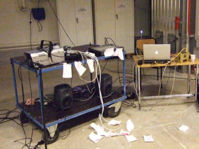 Rune Søchting: Nordic Sound Art workshop, 2008. Foto: Rune Søchting