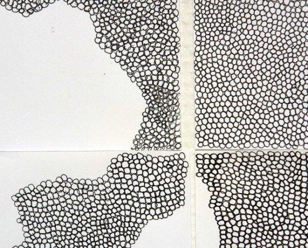 Detalje fra Maja Gade Christensens værk. Pressefoto