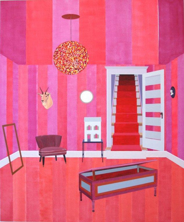 Indgang uden udgang, 228 x 182 cm, 2009. Foto: Martha Kramær
