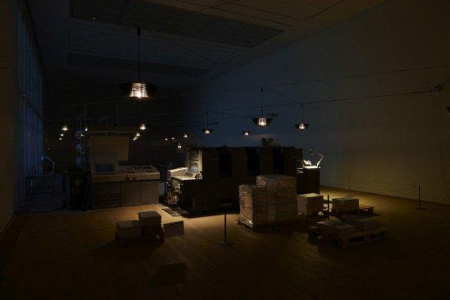 Simon Starling og Superflex: Blackout Foto: Torben Eskerod