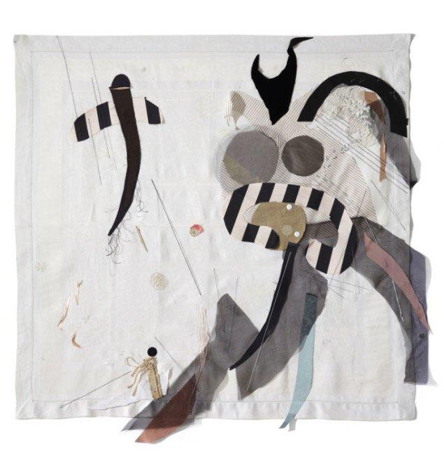 Pernille Egeskov: Upheaval, 2009. Curtains på Henningsen Contemporary. Foto: Anders Sune Berg.