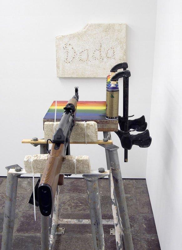 Mikkel Carl: Yeah It's My Banner. Pressefoto til udstillingen: Honza Hoeck.