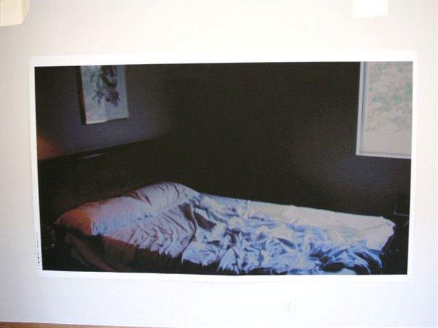 Line Kallmayer: Dennis - a monodrama. Still fra filmen udstillet i Senko Studio. Foto: Kurt Nielsen.