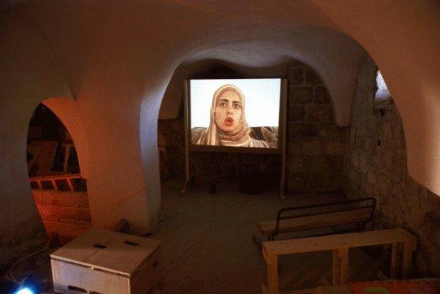 Biograf i Peoples Museum, installationsview. Foto: YNKB