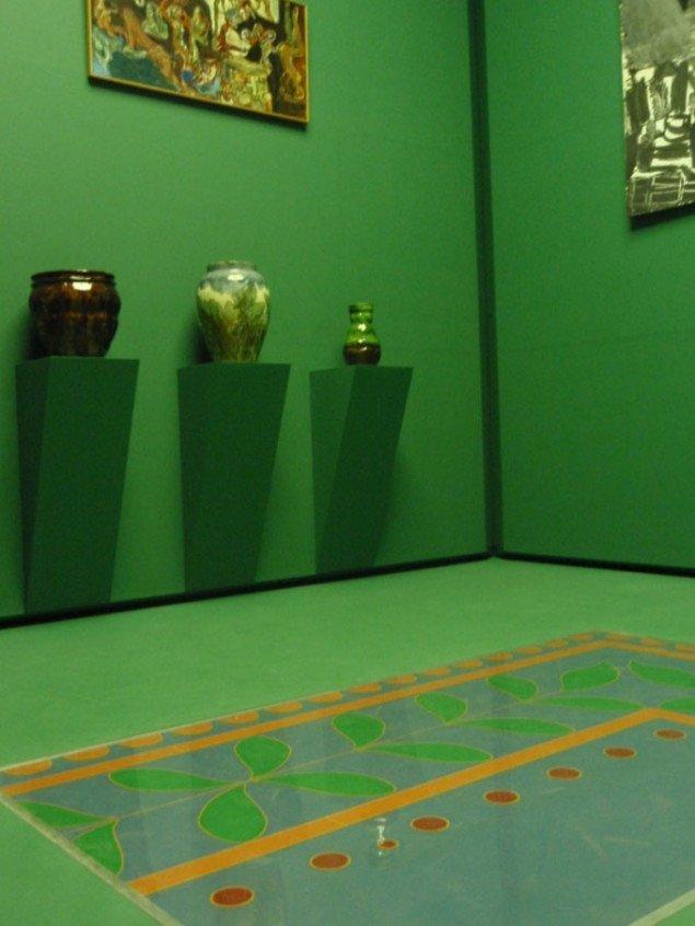 Installationsvue fra Ingvar Cronhammars multiinstallation. Foto: Julie Rokkjær Birch