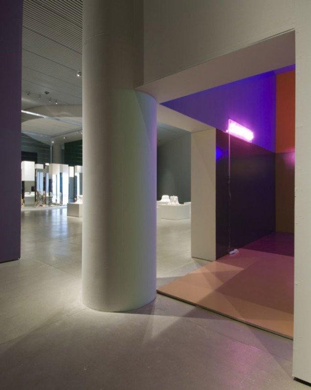Indgangen til Erik A. Frandsens kube. Pressefoto
