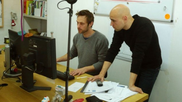 Stephan Brimberg (tv) og Stephan Babendererde (th). Foto: Anna Aslaug Lund