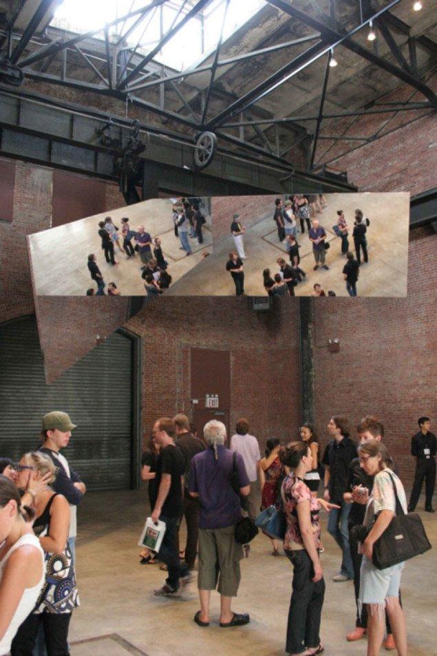 Jeppe Hein: 360° Illusion III, 2007. Courtesy: Johann König, Berlin and 303 Gallery, New York. Foto: Stephan Brimberg