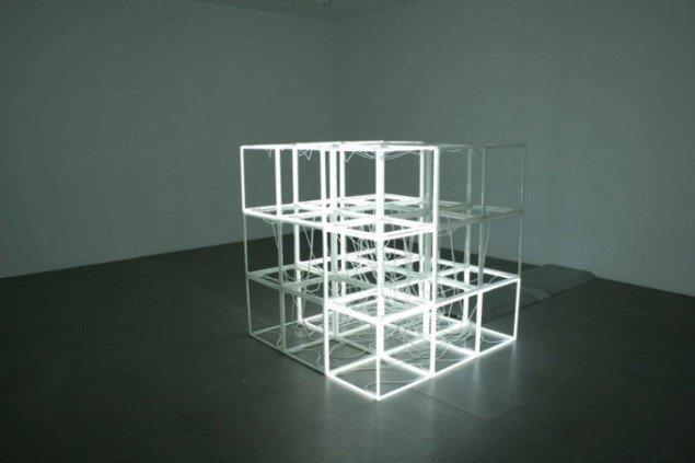 Jeppe Hein: Changing Neon Sculpture, 2006. Courtesy: Johann König, Berlin and 303 Gallery, New York. Foto: Anders Sune Berg