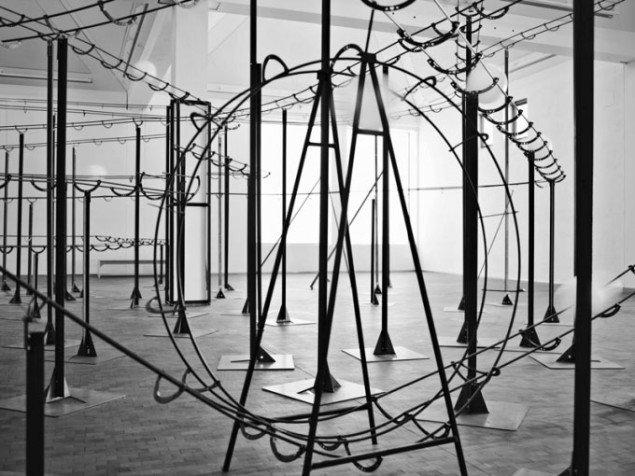 Jeppe Hein: Distance, 2004. Courtesy: Johann König, Berlin and 303 Gallery, New York. Foto: Simon Ladefoged
