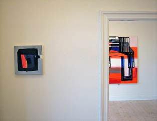 'Square One' på tværs af rum, interiør hos Galleri Udengaard
