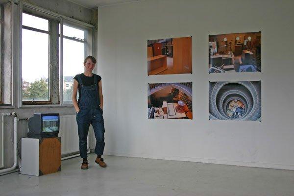 Pernille With Madsen: DR-byen, Ørestaden, video, 2007 og 'Skat flytter', foto, 2007
