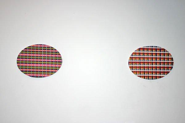Lars Heiberg: Grid 1 og 2, maleri