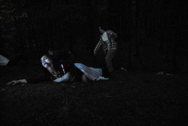 Scene fra Undead in The Night (Foto: Lilith Performance Studio)