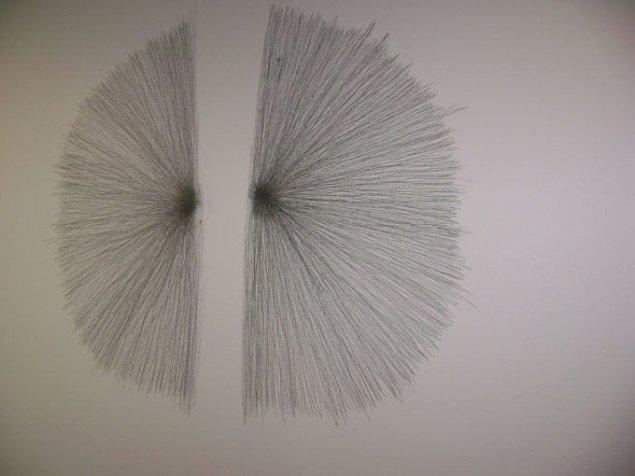 Vitruvian Man, 2009. William Anastasi, Esbjerg Kunstmuseum. Foto: JRB