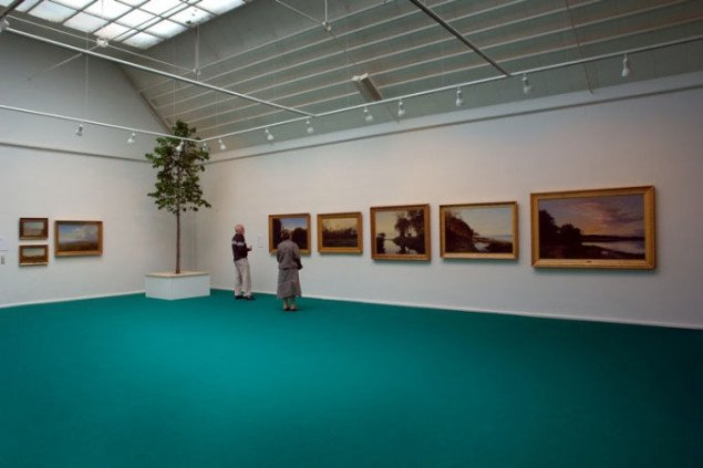 Installationsvue Under Overfladen. Foto: Århus Kunstbygning