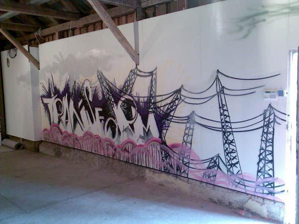 Lars Hemplers graffitivæg