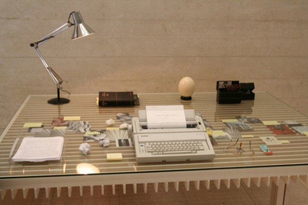 Simon Fujiwaras bidrag til Elmgreen og Dragsets installation i den nordiske pavillon. Foto: Sixten Therkildsen