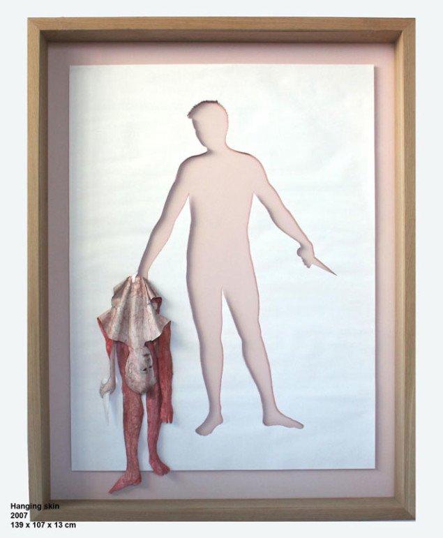 Hanging skin (2006). Foto: Anders Sune Berg