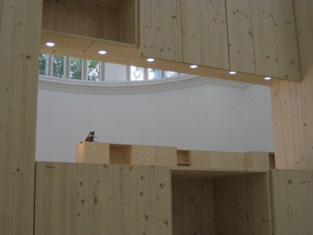 Installationsvue fra den tyske pavillon. Foto: Kasper Lie