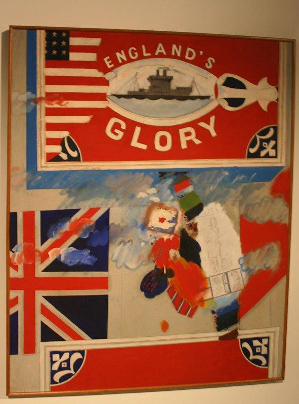 Derek Boshier: England's Glory, 1962, Muzeum Sztuki (MS2), Lodz. Indsendt af Kristian Handberg.