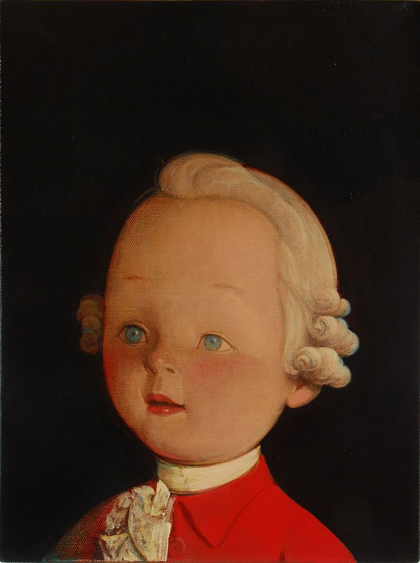 Liu Ye, Portræt af Mozart, 2008.