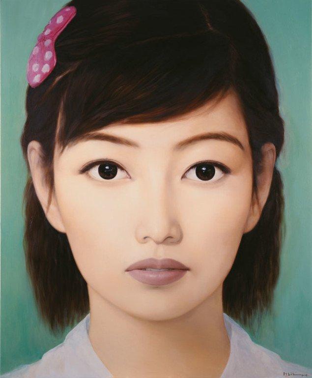Qi Zhilong, Uden titel, fra serien Kinesiske piger, 2008.