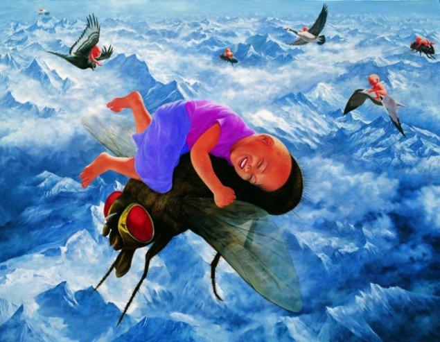 Fang Lijun,  2009. nr 5, 2009