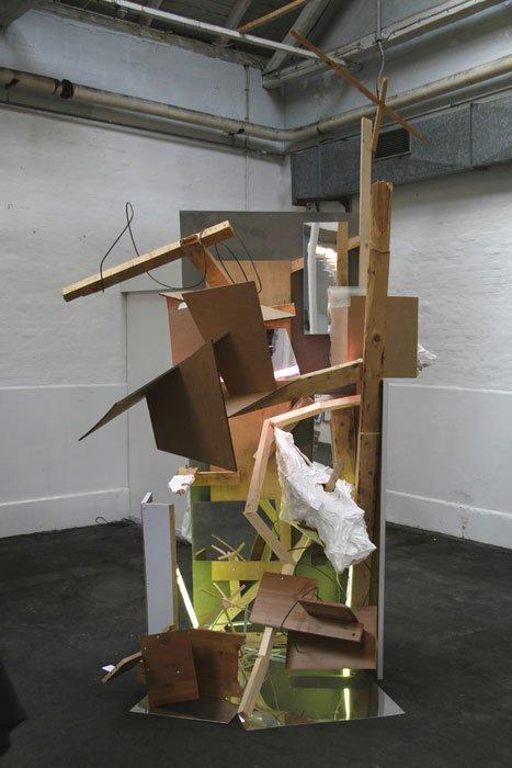 Kim Grønborgs skulptur.  Foto: Flemming Jarle