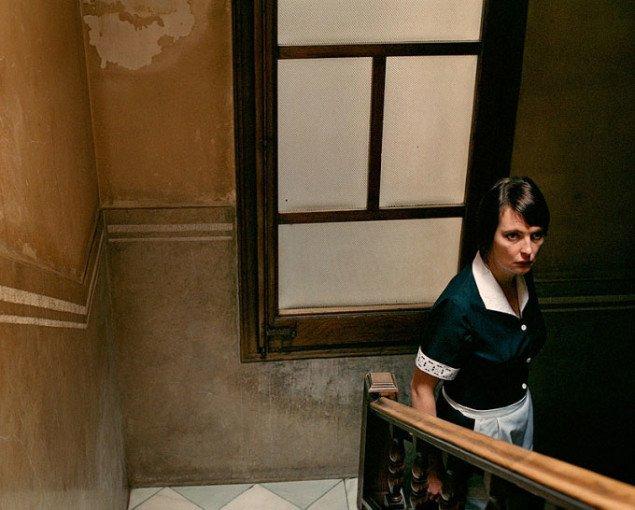 Aino Kannisto: Staircase, 2008. Pressefoto Galerie Wolfsen