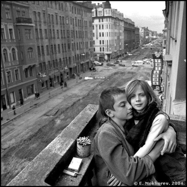 Evgeny Mokhorev: Kuzia and Myha, 2004. Pressefoto Galerie Wolfsen