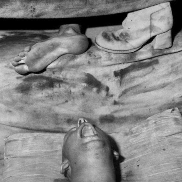 Roger Ballen: Exhaustion, 2006. Pressefoto Galerie Wolfsen
