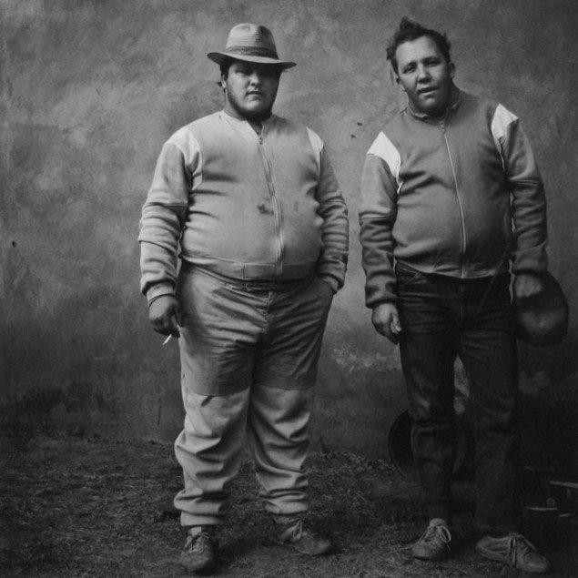 Roger Ballen: Johan and Bertie, 1987. Pressefoto Galerie Wolfsen