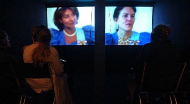 Videointerviews med 'dronningerne' Foto: Jens Møller Sørensen