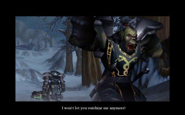 IMO viser Martin Falchs film instrueret gennem online-spillet World of Warcraft. Pressefoto