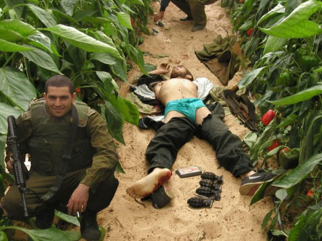 Soldater har selv manipuleret billeder. Pressefoto
