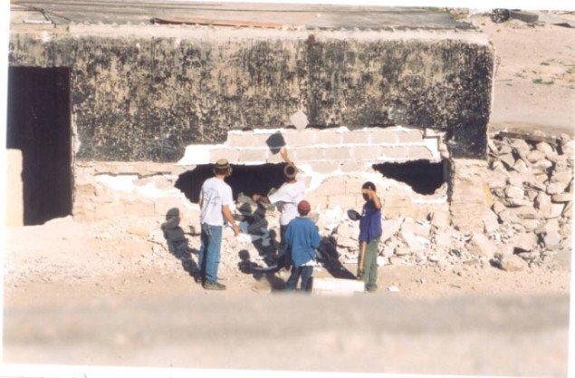 Bosætterbørn i Hebron. Pressefoto
