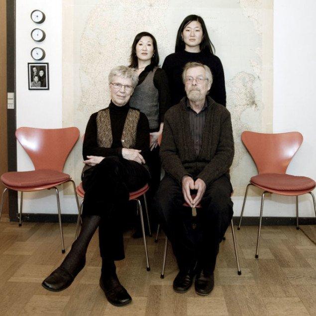 Dobbelte familier i Eva Tind Kristensen: Family. Foto: Line Hjorth