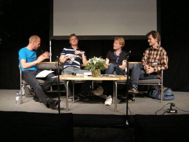 Kunsten og kritikken, ART COPENHAGEN fredag. (Foto: Jan Falk Borup)