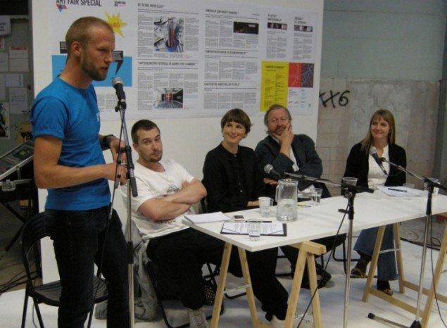 Kristoffer Akselbo, Henriette Bretton-Meyer, Bjørn Nørgaard og Merete Sanderhoff