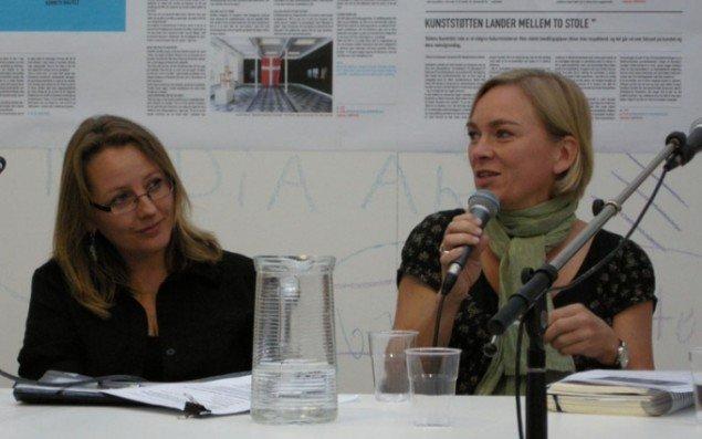 Nanna Gro Henningsen og Christine Buhl Andersen. (Foto Solveig Lindeskov Andersen)
