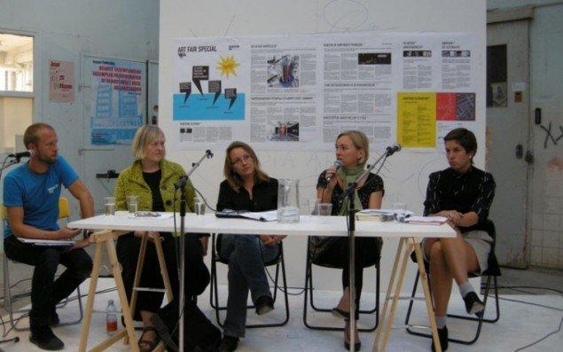 Matthias Borello, Marianne Hesselbjerg, Nanna Gro Henningsen, Christine Buhl Andersen og Maibritt Pedersen. (Foto Solveig Lindeskov Andersen)