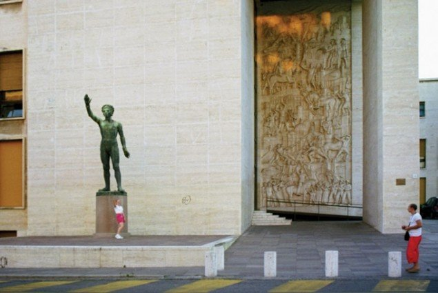 Alexander Vaindorf: Present Unfinished / EUR Chronicle (2009), Video still.