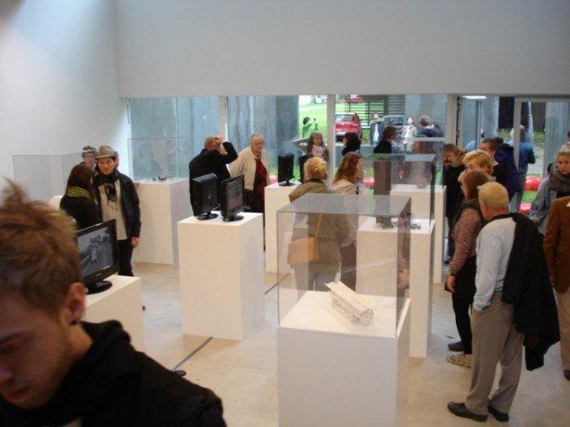 Det nederste og største udstillingsrum, Foto Karen Johnsen