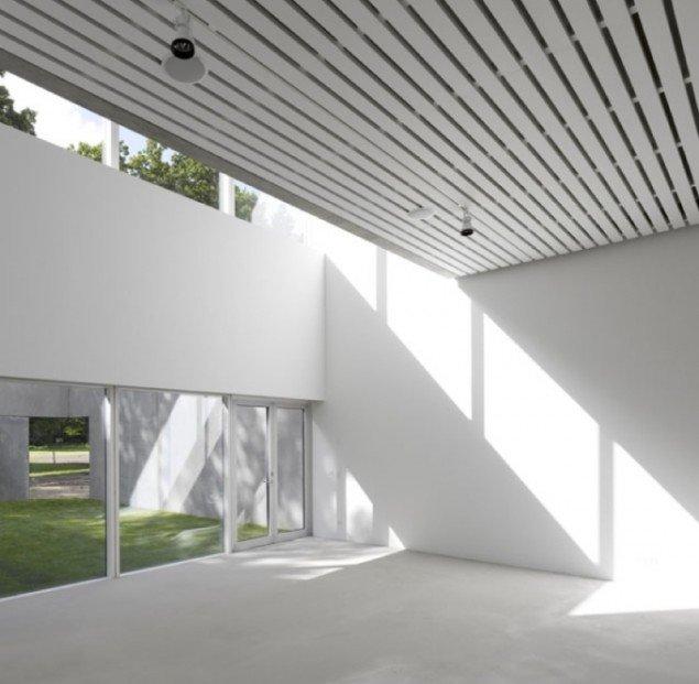 Interiør, Four Boxes Gallery. Pressefoto